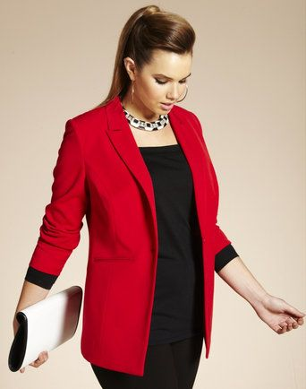 10 Most Wanted: Plus Size Blazers | Plus size outfits, Plus size .