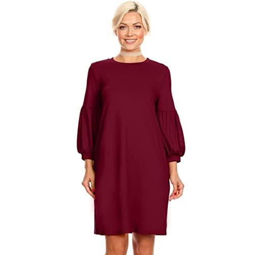 Plus Size Shift Dress: Amazon.c