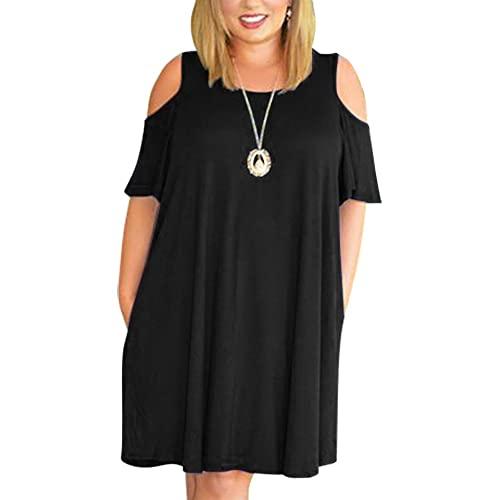 Cold Shoulder Plus Size Dress: Amazon.c