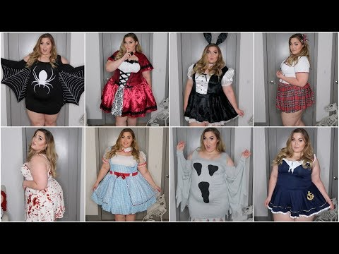 EASY Plus-Size Halloween Costumes under $25! Try-On & Haul *Last .