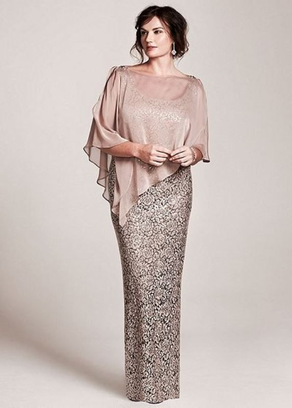 43 Stunning Plus Size Mother Of The Bride Dresses | Bride clothes .