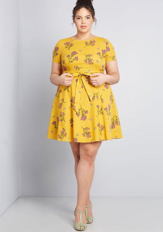 Airy Emphasis Mini Dress | Plus size mini dresses, Plus size short .