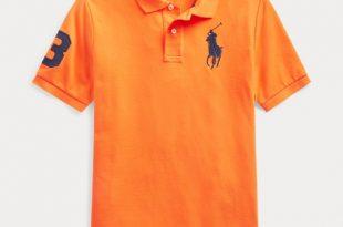 Cotton Mesh Polo Shirt | Short Sleeve Polo Shirts | Ralph Laur