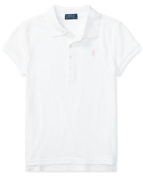 Polo Ralph Lauren Big Girls Stretch Mesh Polo Shirt & Reviews .