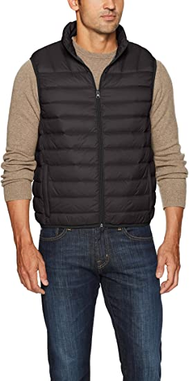 Hawke & Co Men's Lightweight Down Packable Puffer Vest at Amazon .