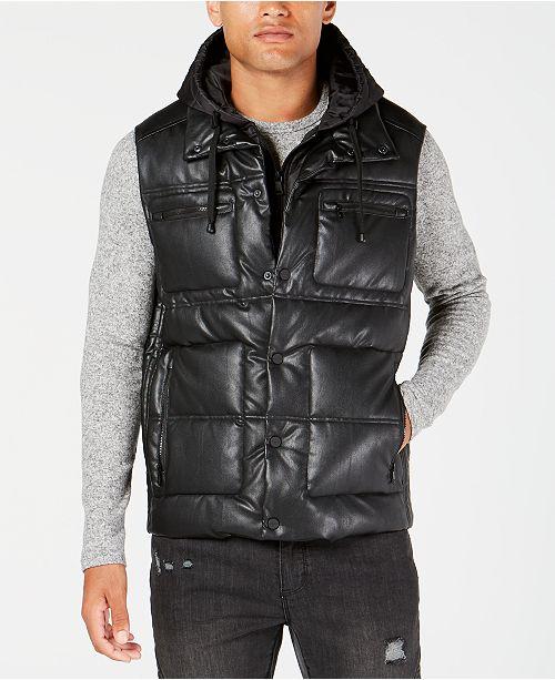 Sean John Men's Hooded Puffer Vest & Reviews - Coats & Jackets .