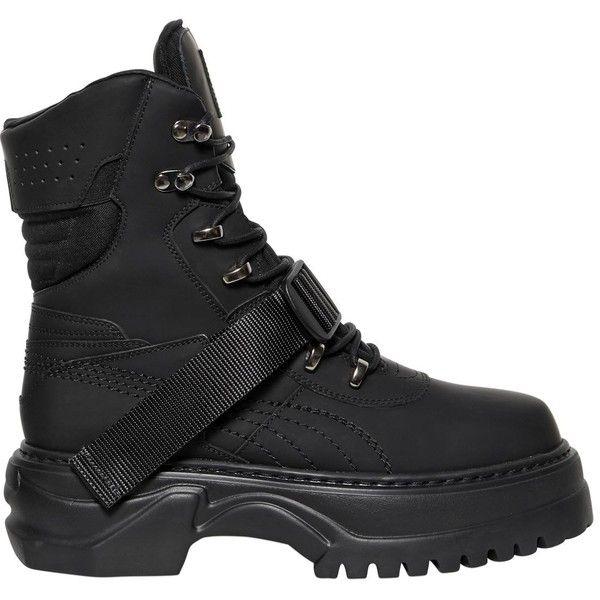 Fenty X Puma Women Winter Leather Boots (10.846.520 IDR) ❤ liked .