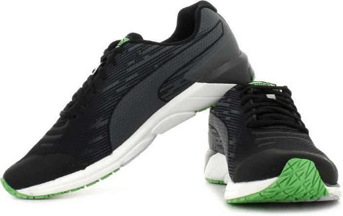 Puma Faas 300 v4 Running Shoes For Men - Buy 02, Black, Turbulence .