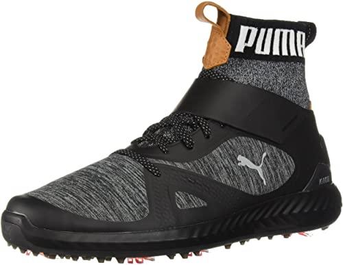 Amazon.com | PUMA Men's Ignite Pwradapt Hi-top Golf Shoe | Go