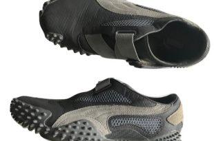 Puma Shoes | Mostro Leather Running Velcro Gray | Poshma