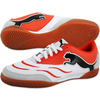 $58.49 - Puma PowerCat Sala Indoor Trainers Soccer Shoes (White .