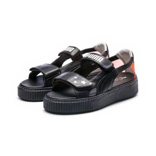 PUMA x SOPHIA WEBSTER Platform Sandals | Women platform sandals .