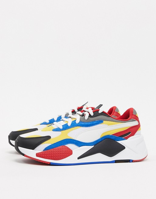 Puma RS-X3 CUBE sneakers in red | AS