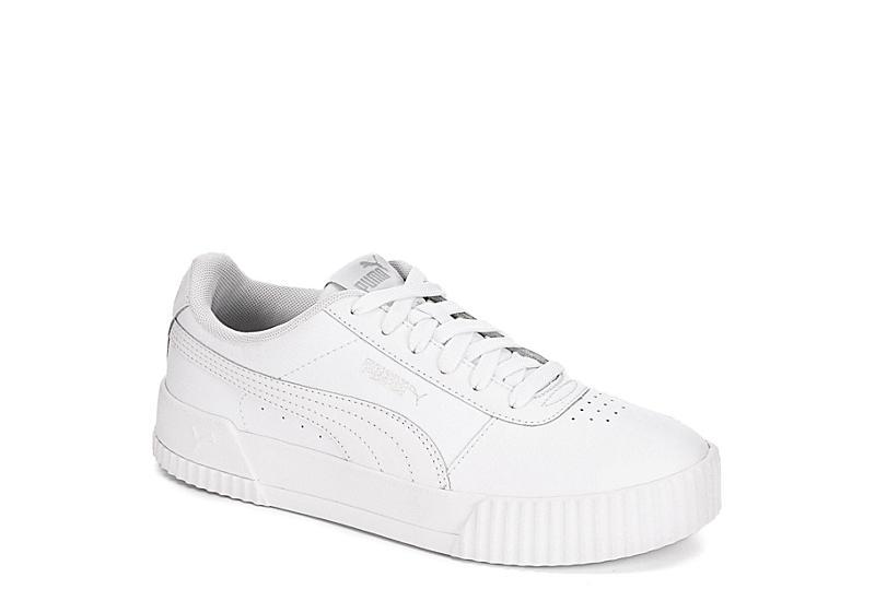 White Puma Womens Carina Sneaker | Athletic | Off Broadway Sho