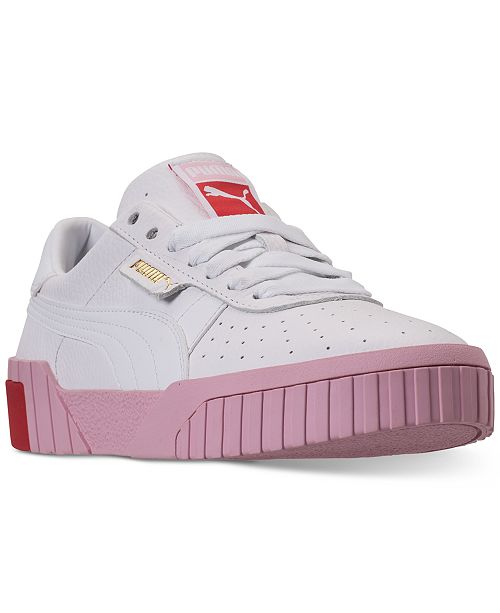 Puma Women's Cali Fashion Casual Sneakers from Finish Line .