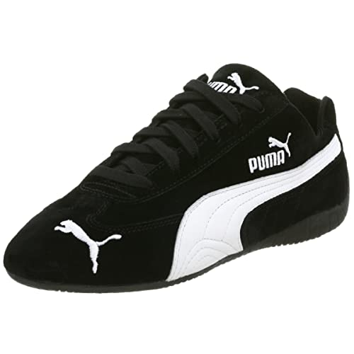 Buy Puma Men's Speed Cat SD US Sneaker, Black/White, 5.5 M US at .