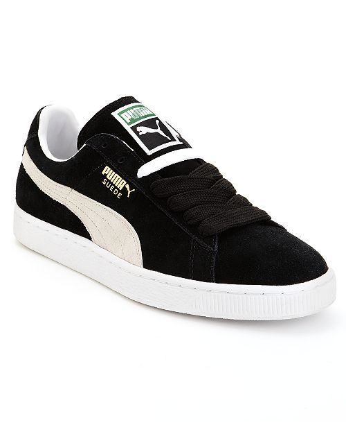 Puma Men's Suede Classic Casual Sneakers from Finish Line .