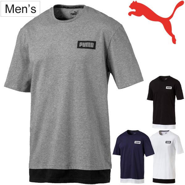 APWORLD: T-shirt short sleeves men Puma PUMA REBEL TEE/ sports .