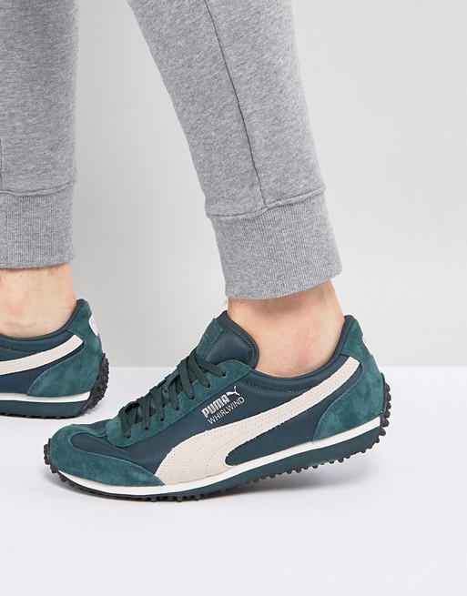 Puma Whirlwind Winterized Sneakers In Green 36378803 | AS