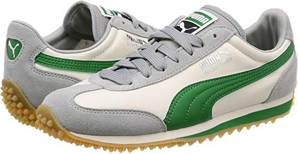 Puma Whirlwind Classic Mens Trainers White Green Grey - 7 UK .