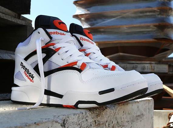 Reebok Pump Omni Lite OG - White - Black - Orange - SneakerNews.c