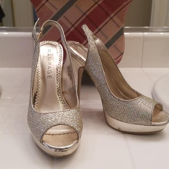 Rampage Shoes | Gold | Poshma