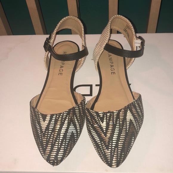 Rampage Shoes | Corinna Pointed Toe Flats | Poshma