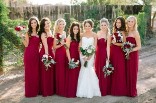 Perfect Colors For A Winter Wedding - The SnapKnot Blog | Red .