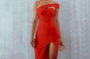 Dresses | European Red Cocktail Dress | Poshma