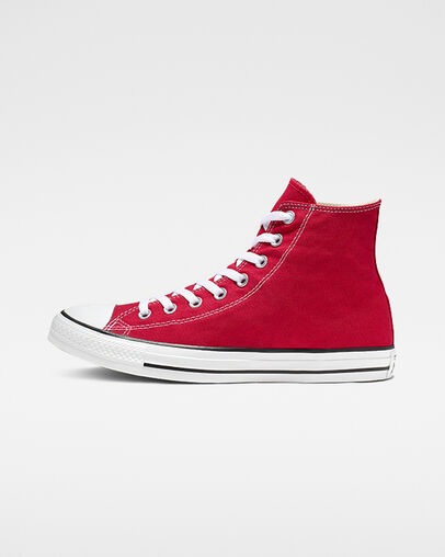 Red Converse Shoes: Low & High Top. Converse.c