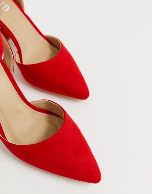 RAID Edris red heeled shoes | AS