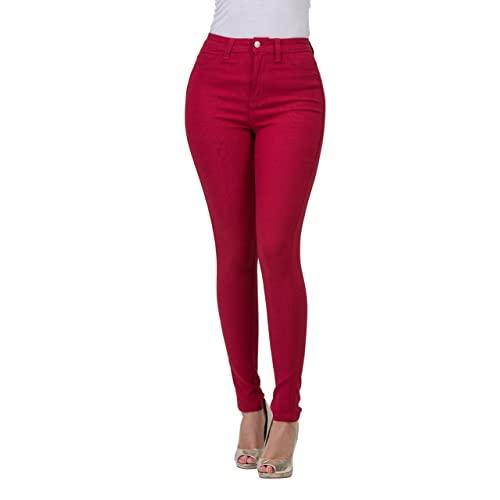 Women's Red Jeans: Amazon.c