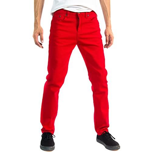 Men's Red Jeans: Amazon.c