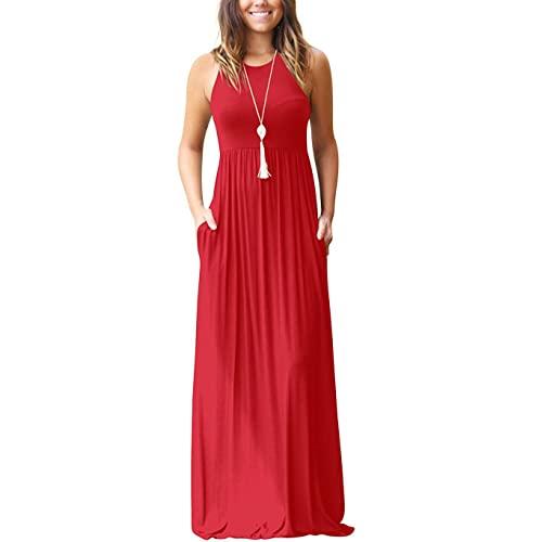 Red Maxi Dress: Amazon.c