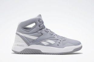 Reebok BB OS Mid Men's Basketball Shoes - Grey   Reebok