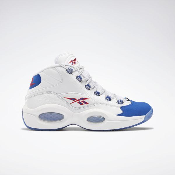 Reebok Question Mid Basketball Shoes - White | Reebok