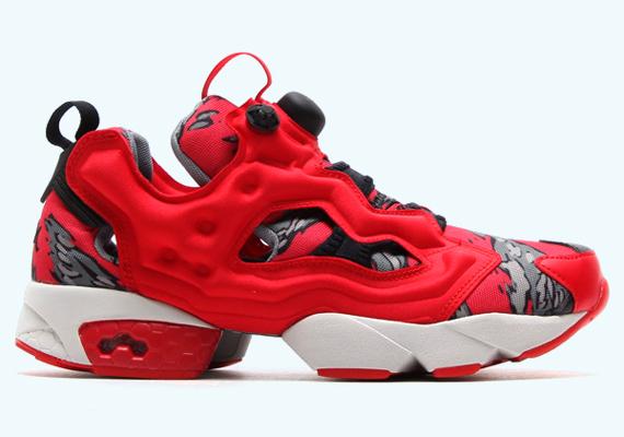 Stash x Reebok Pump 25th Anniversary Red Collection - SneakerNews.c