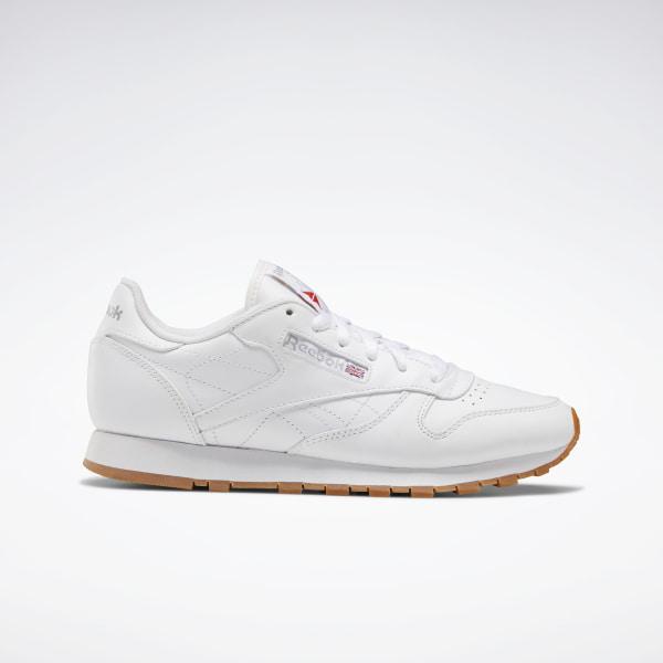 Reebok Classic Leather Women's Shoes - White | Reebok