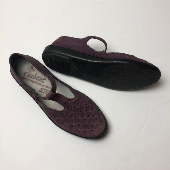 reiker Shoes | T Strap Shoe | Poshma