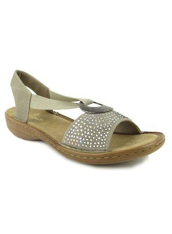 Reiker Sandal Taupe Sparkle | Reiker Shoes Online | Shoes, Sandals .