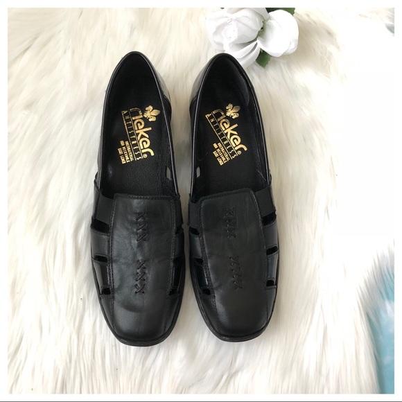reiker Shoes | Antistress Obermaterial Und Decksohle Leder | Poshma