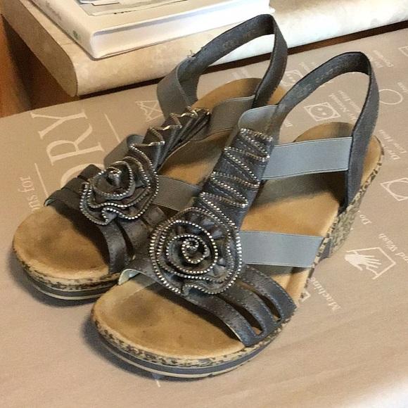 Reiker Shoes | Rieker Wedges | Poshma