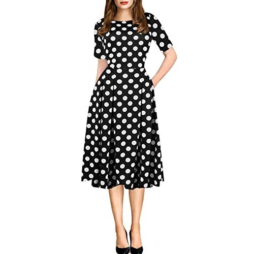 Retro Dresses: Amazon.c