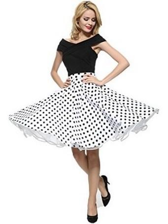 70 cute casual retro dresses inspired women's style (1) – FEMALI