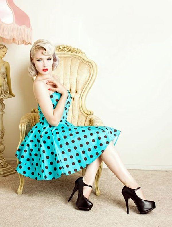 Retro Fashion Style Outfits (11) | Rockabilly fashion, Fashion .