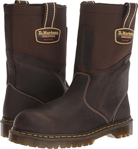 Dr. Martens Unisex HOWK Electrical Hazard ST Rigger Boots, Brown .