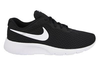 New Nike Mens Tanjun Running Trainers Shoes Lightweight - black .