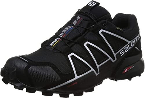 Amazon.com | Salomon Men's Speedcross 4 GTX Trail Running Shoes .