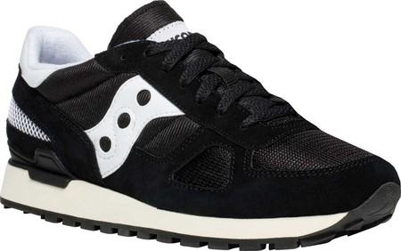 Mens Saucony Originals Shadow Original Sneaker - Black/White/Off .