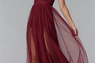 Sexy Prom Dress With Deep V-Neckline - PromGi